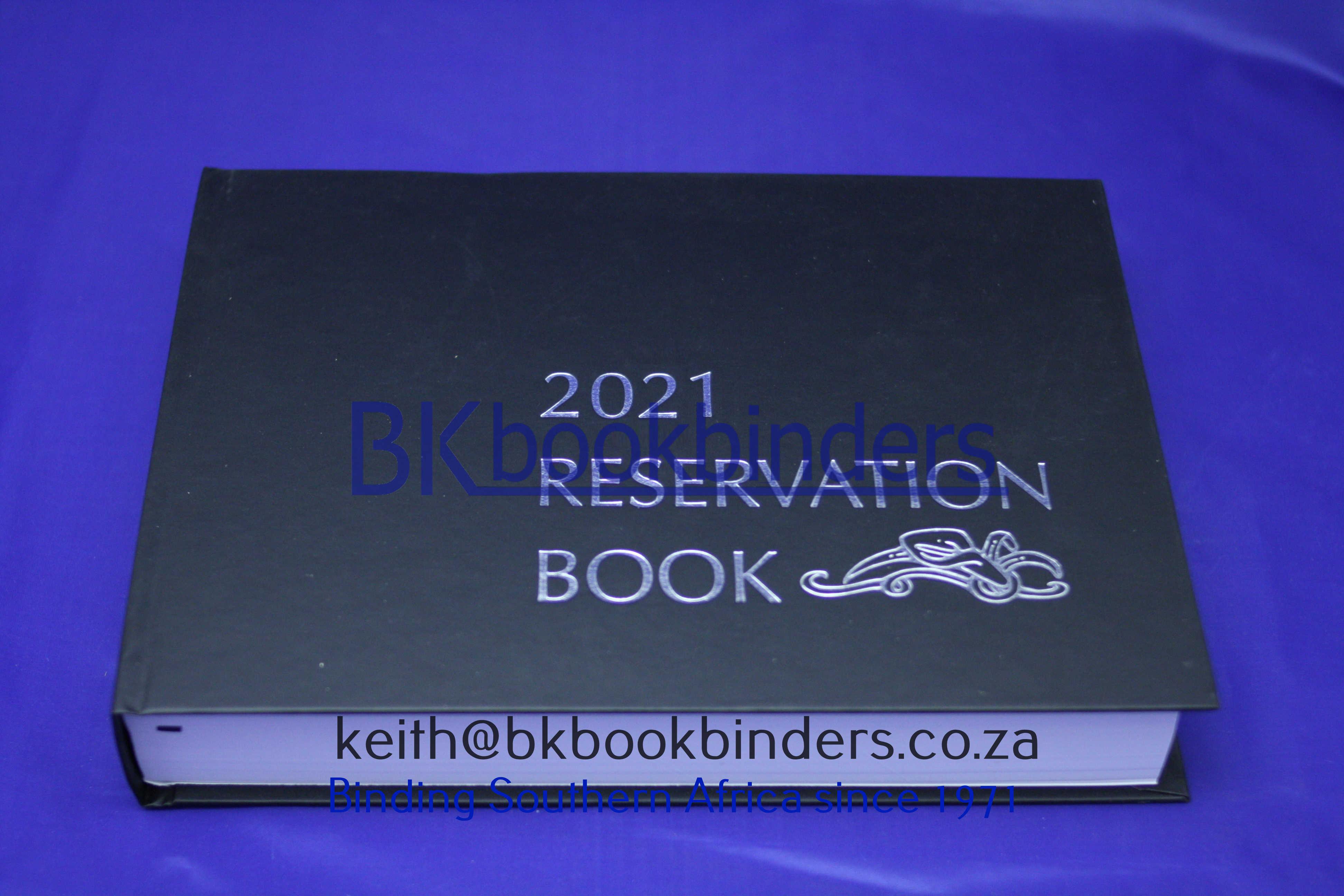 Menus Bk Bookbinders